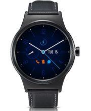Alcatel MOVETIME Smartwatch, Leather, celé černé